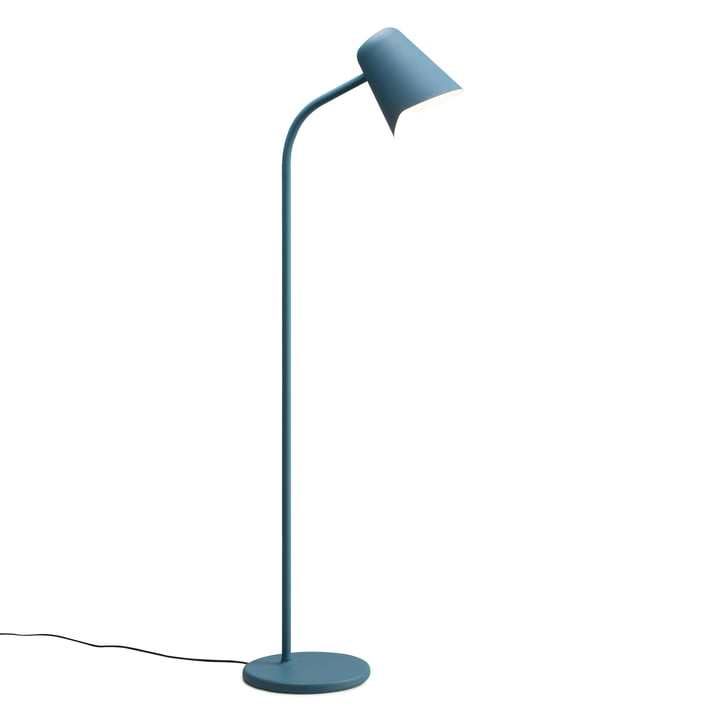 The Northern - Me Floor Lamp in teal blue
