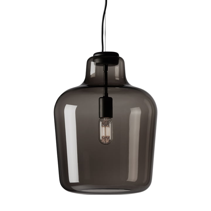 The Northern - Say My Name pendant lamp in smoked grey / glossy