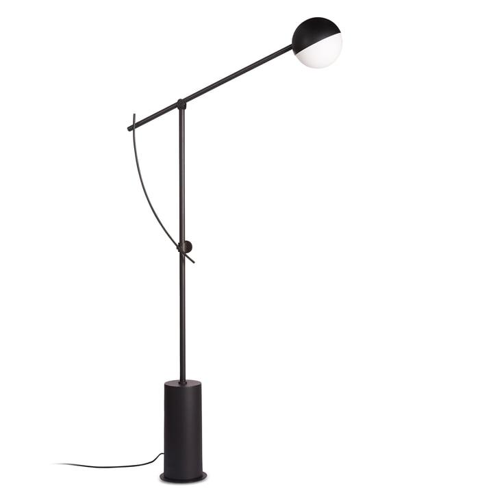 The Northern - Balancer floor lamp in black