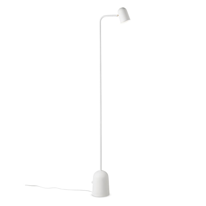 Buddy floor lamp from Northern in white