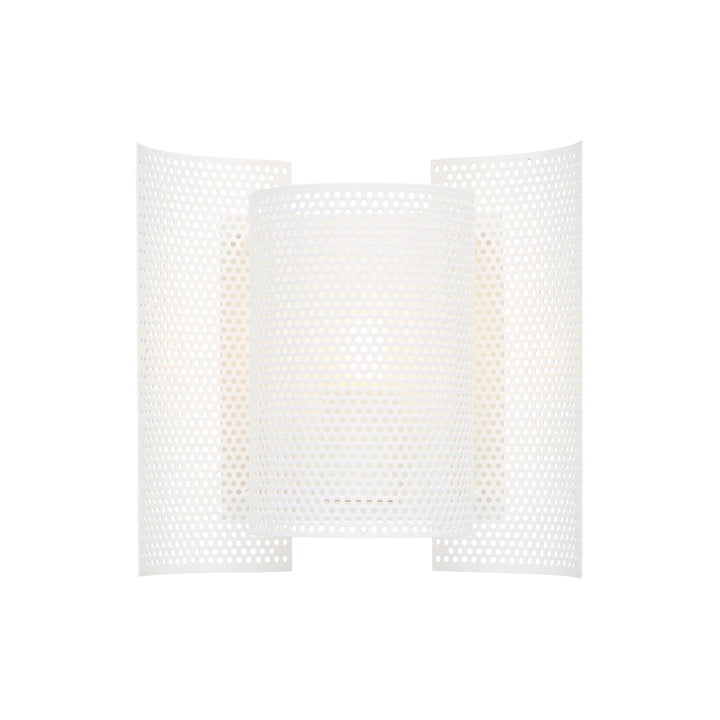 Butterfly wall lamp, perforated white by Northern