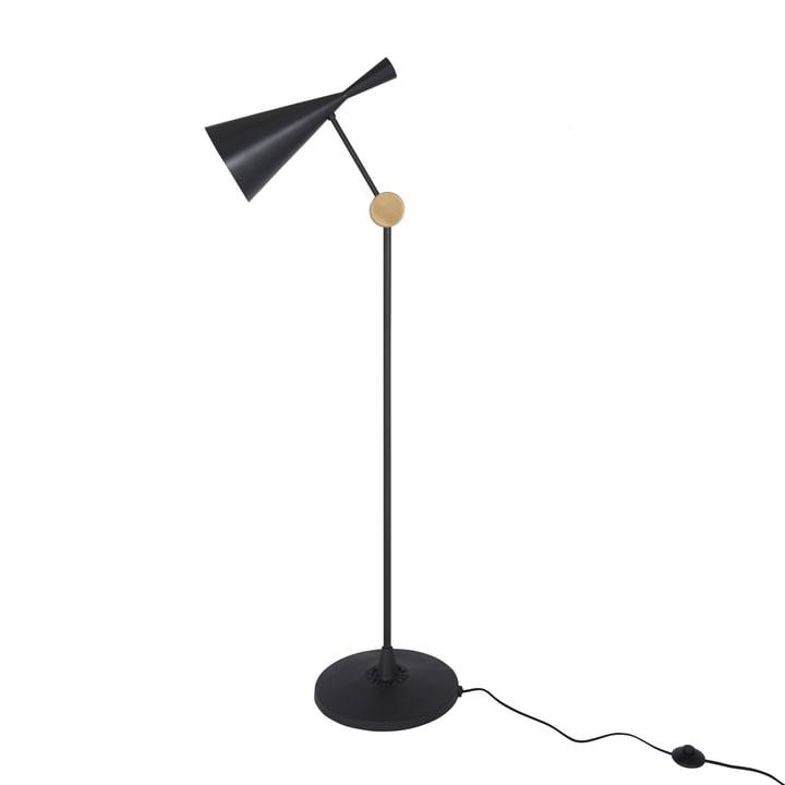 Beat floor lamp by Tom Dixon in black