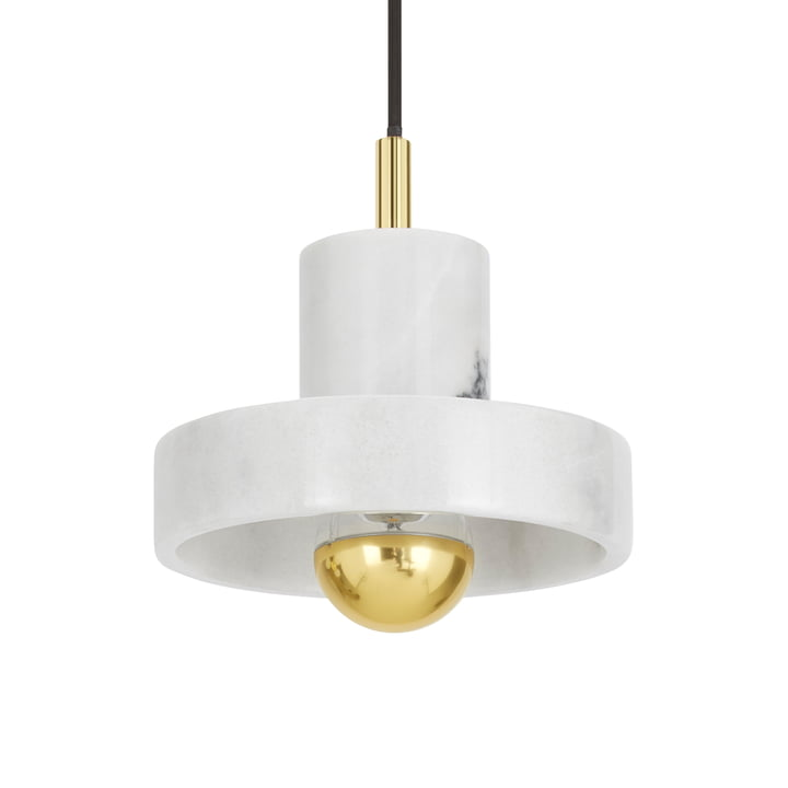 Stone pendant lamp by Tom Dixon