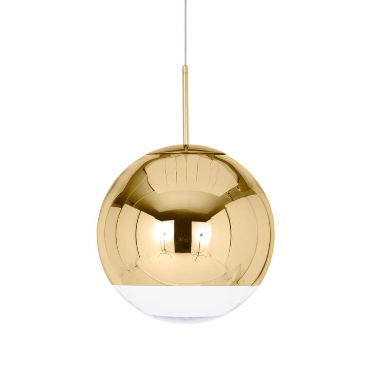 Mirror Ball Gold Pendant lamp Ø 40 cm from Tom Dixon