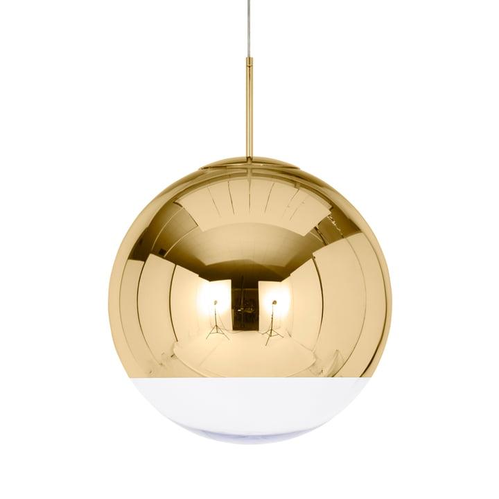 Mirror Ball Gold Pendant lamp Ø 50 cm from Tom Dixon