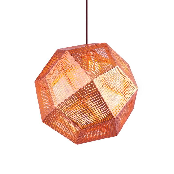 Etch Pendant lamp, copper from Tom Dixon