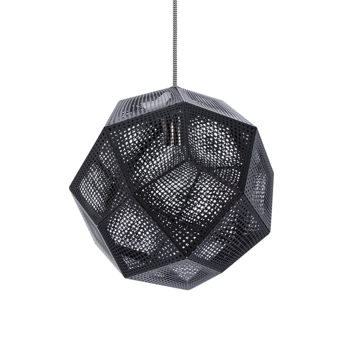 Etch Pendant lamp, black by Tom Dixon