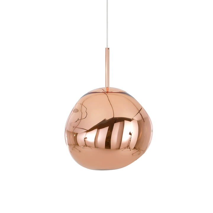 Mini Melt pendant lamp by Tom Dixon in copper