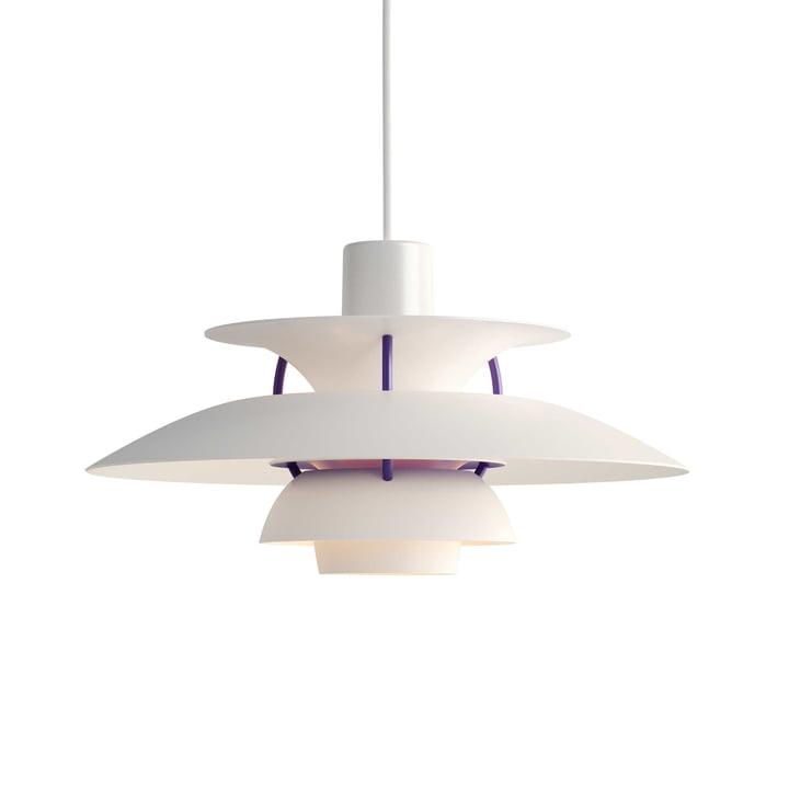 The Louis Poulsen - PH 5 Mini Pendant Lamp in White