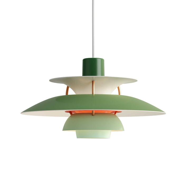 The Louis Poulsen - PH 5 Mini pendant lamp in green