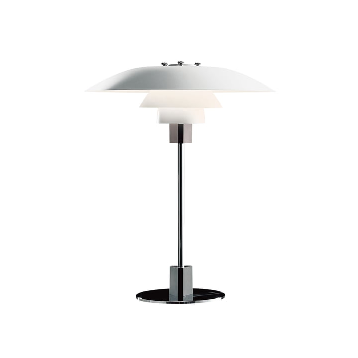 The Louis Poulsen - PH 4/3 table lamp in white