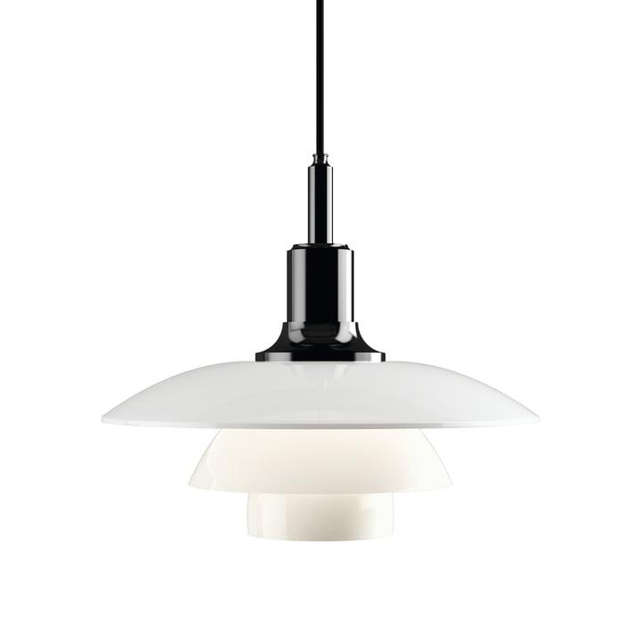 PH 3 ½ - 3 Pendant Lamp by Louis Poulsen in metallic black