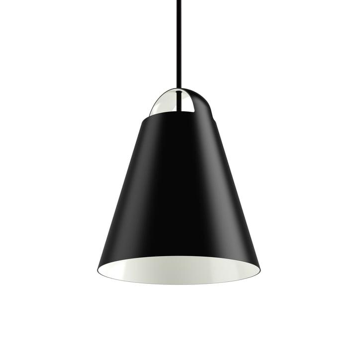Above Pendant Lamp Ø 25 cm by Louis Poulsen in black