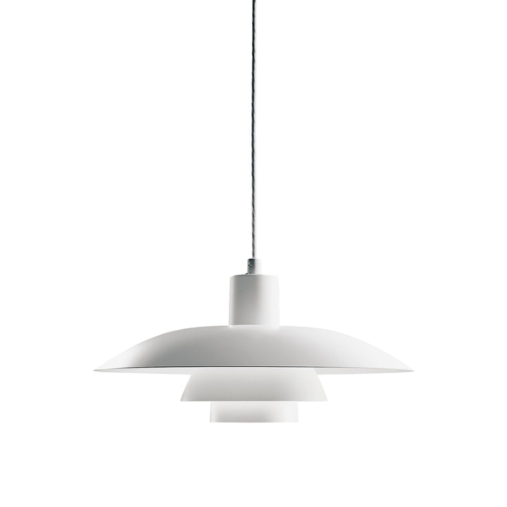 PH 4/3 Pendant Lamp by Louis Poulsen in White