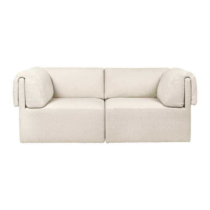 Wonder Sofa, 2-seater, Karakorum, cream by Gubi