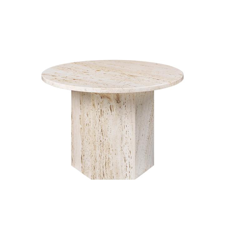 Epic Coffee Table, Ø 60 cm, neutral white by Gubi