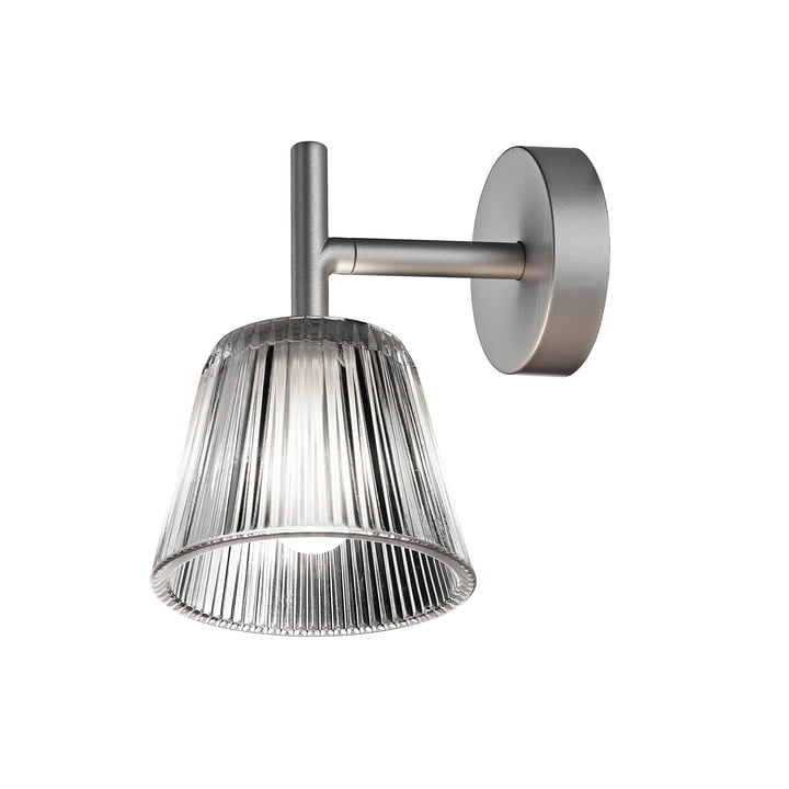 The Romeo Babe wall lamp from Flos with glass shade