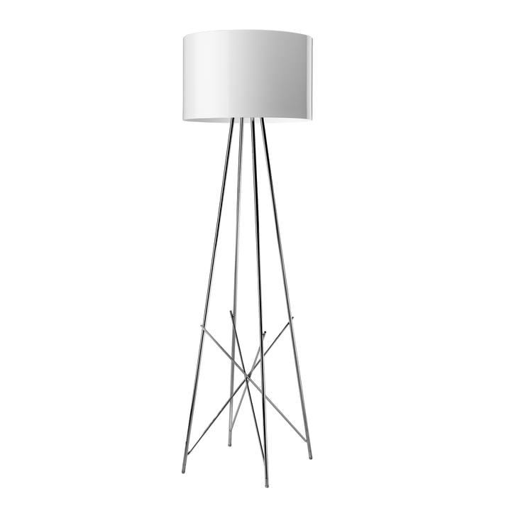 The Ray floor lamp F1 from Flos in white