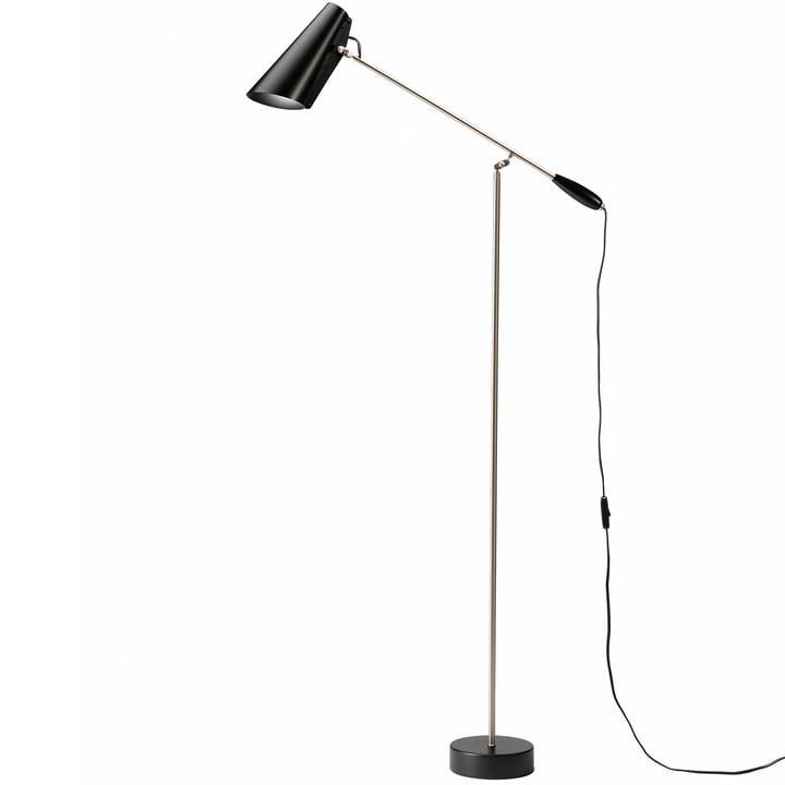 The Birdy Floor lamp from Northern in black / metallic