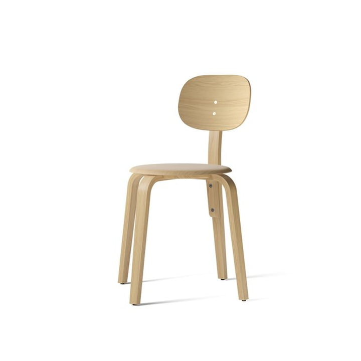 Afteroom Dining Chair Plywood, natural oak from Menu
