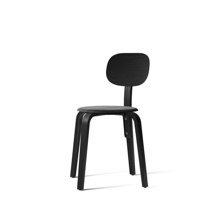 Afteroom Dining Chair Plywood, ash black from Menu