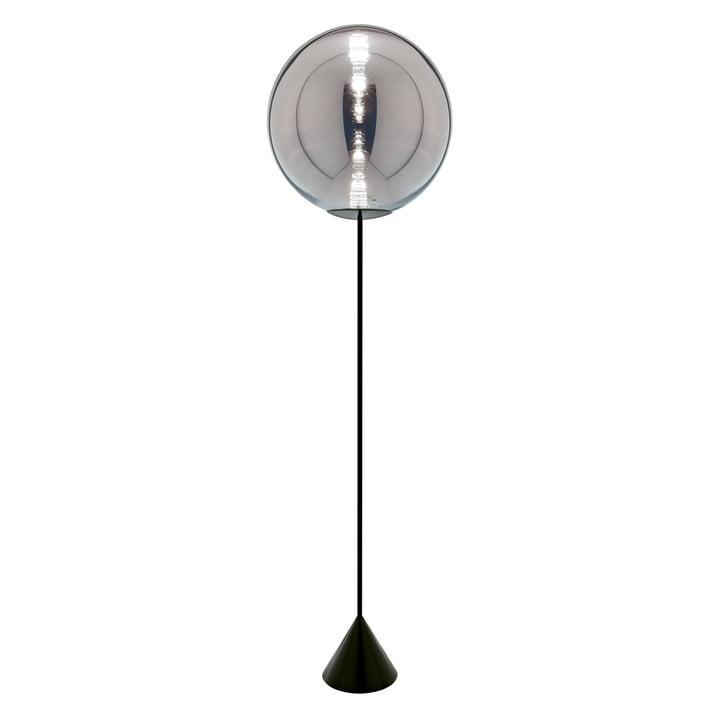 Globe LED Floor lamp, black / chrome from Tom Dixon