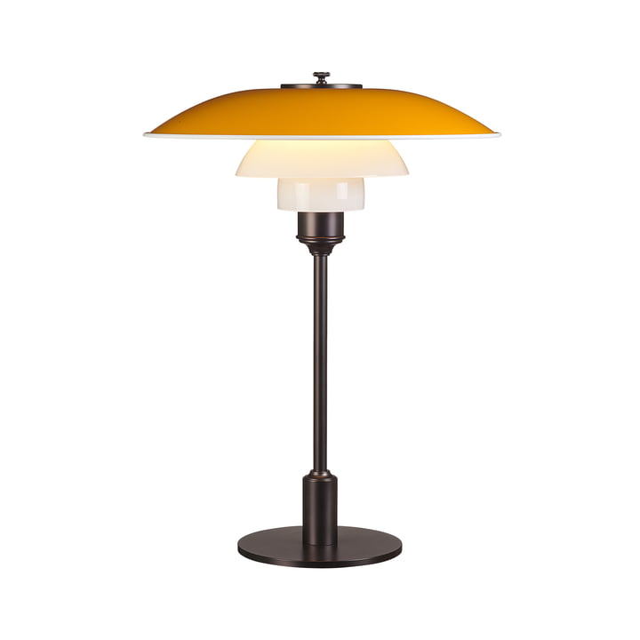 Table lamp PH 3½-2½ by Louis Poulsen in yellow