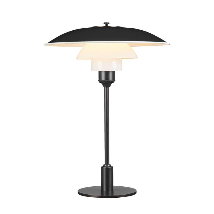 Table lamp PH 3½-2½ by Louis Poulsen in black