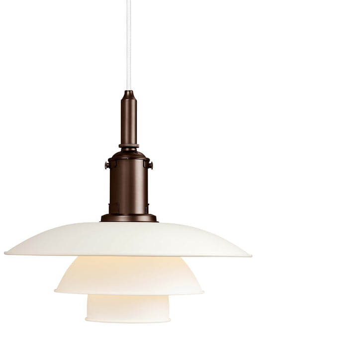 PH 3 ½ - 3 pendant luminaire from Louis Poulsen in white