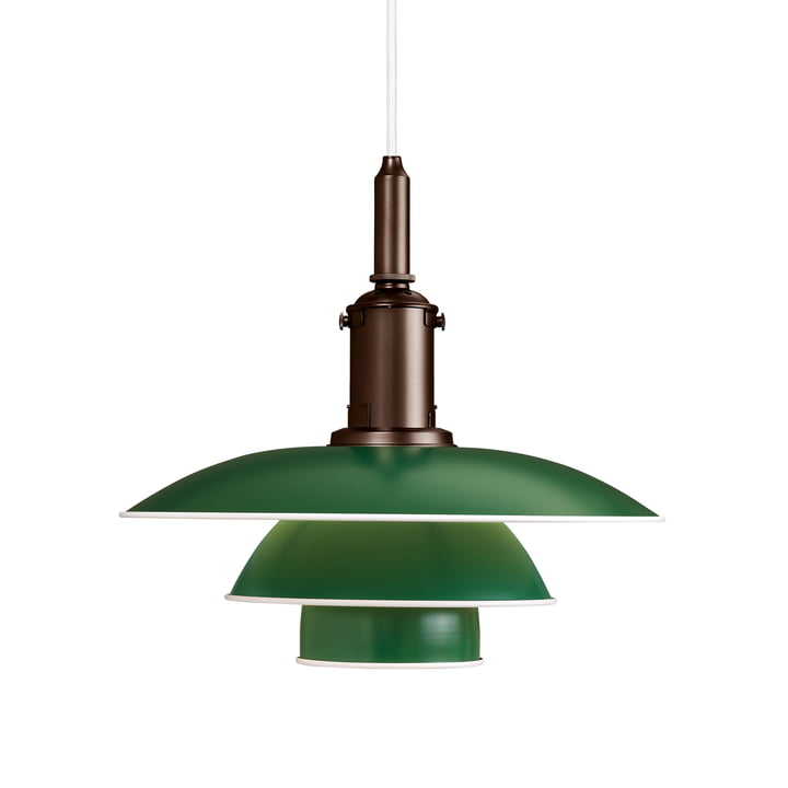 PH 3 ½ - 3 pendant luminaire from Louis Poulsen in green