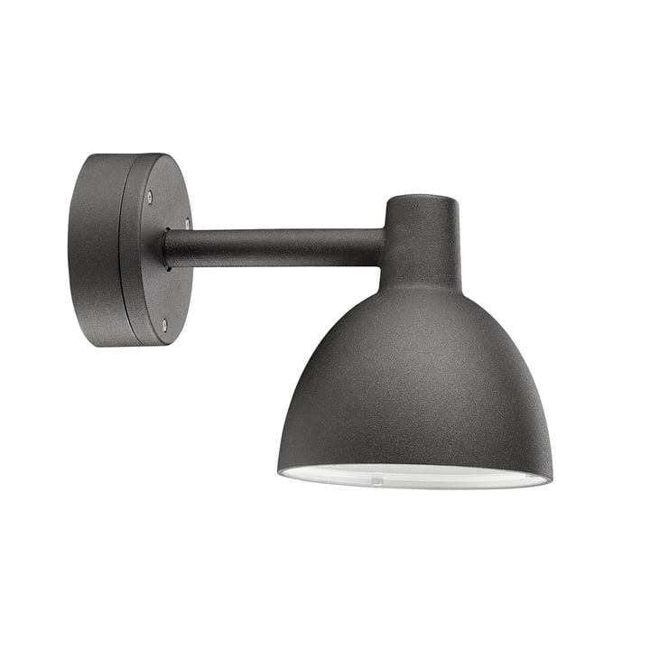 Toldbod 155 wall lamp by Louis Poulsen in black
