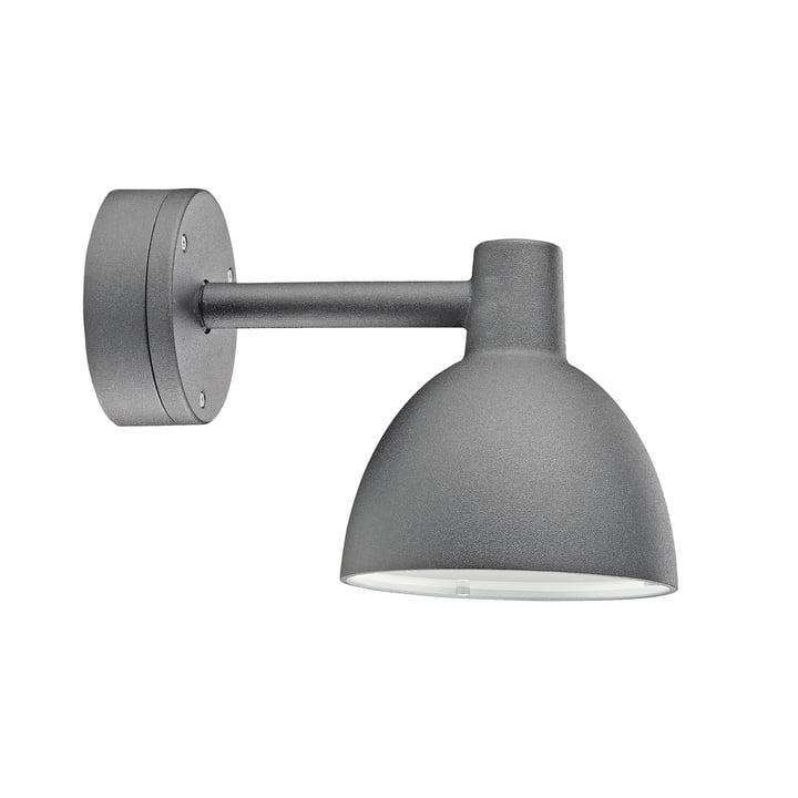 The Louis Poulsen - Toldbod 155 wall lamp in aluminium