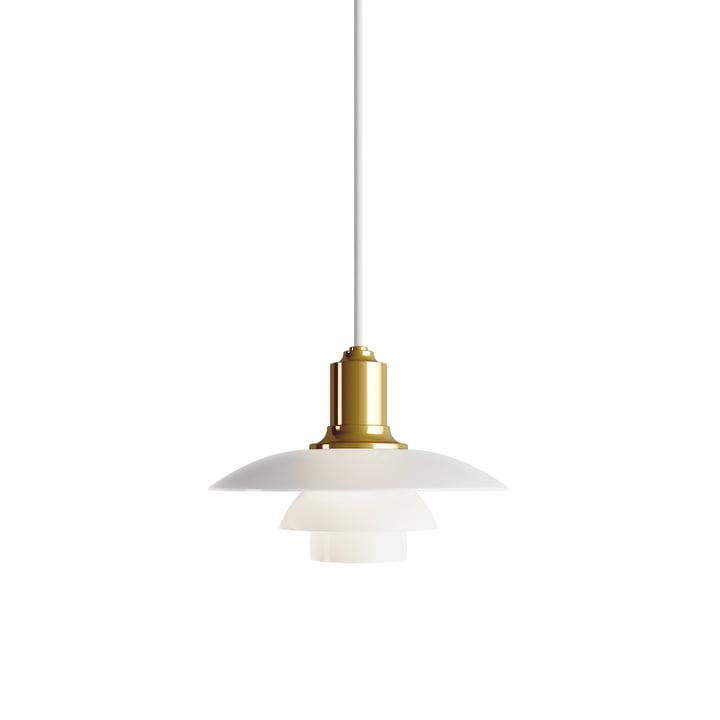 PH 2/1 pendant lamp by Louis Poulsen in brass