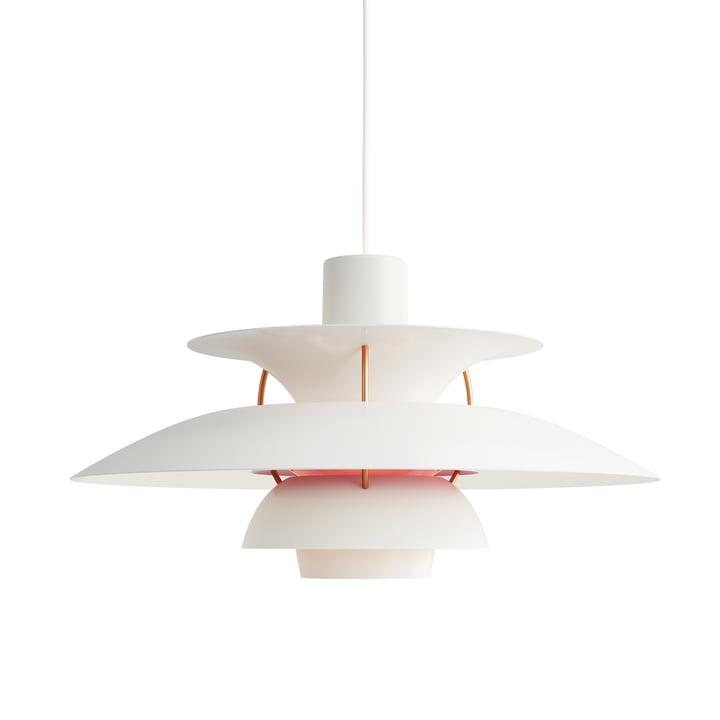 The Louis Poulsen - PH 5 pendant lamp in modern white