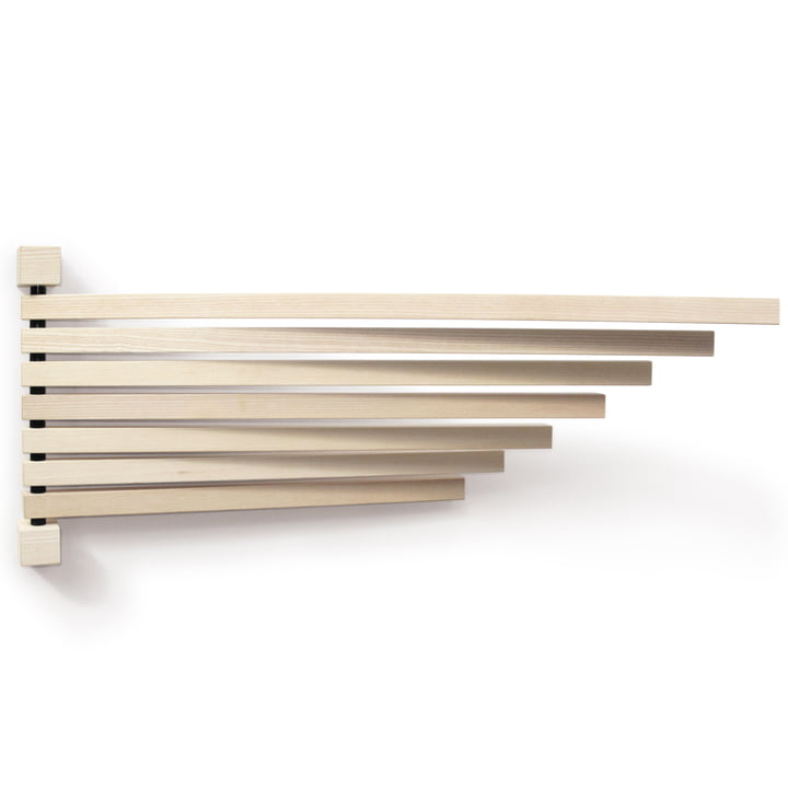 The Pavo wall frame L from side by side in ash