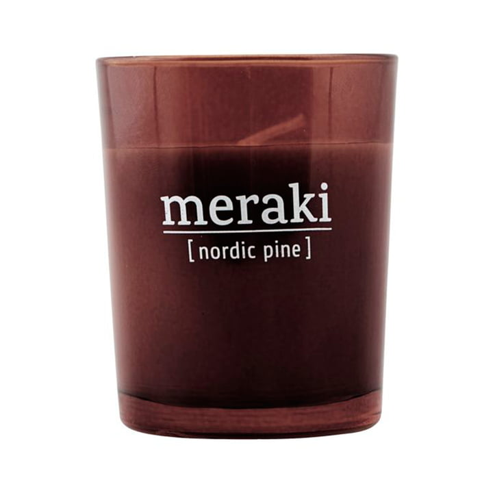 The scented candle Nordic Pine from Meraki , Ø 5,5 cm
