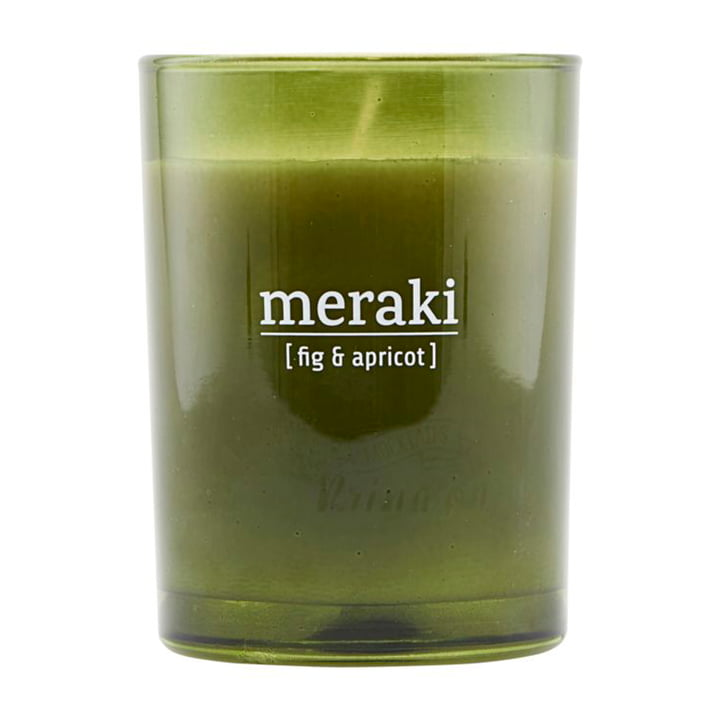 The scented candle Fig & Apricot from Meraki , Ø 8 cm