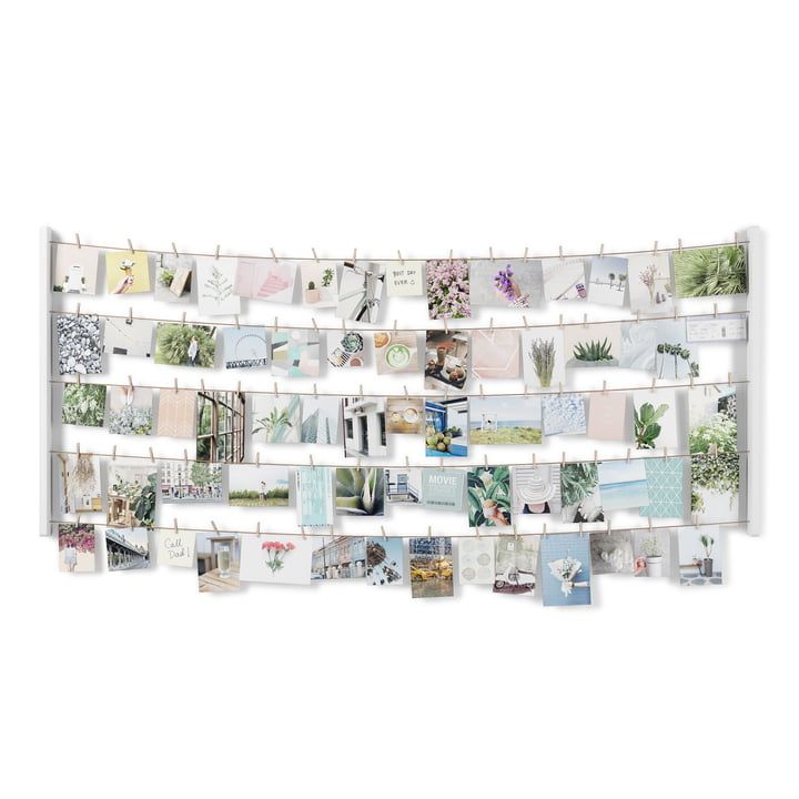 The Hangit photo wall from Umbra in large, white