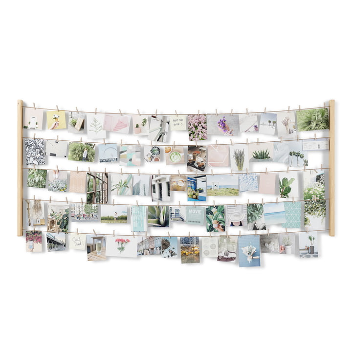The Hangit photo wall from Umbra in large, natural