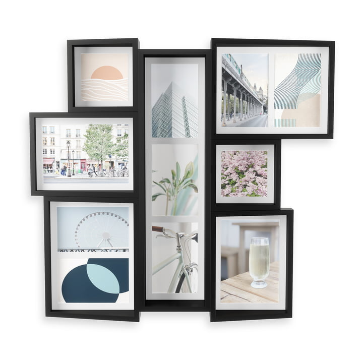 The Edge multi-image frame (wall) from Umbra in black
