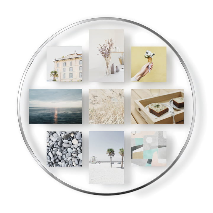 The Infinity picture frame (wall) from Umbra in chrome