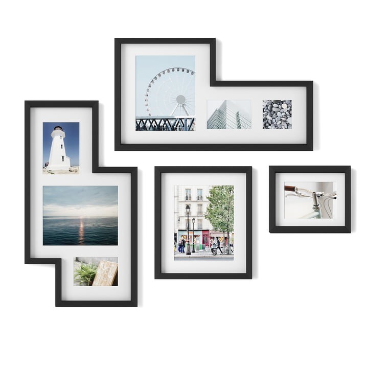 The Mingle Gallery picture frame from Umbra in black