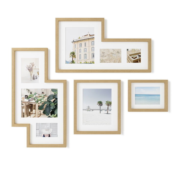 The Mingle Gallery picture frame from Umbra in nature