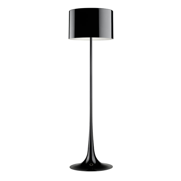 Flos - Spun Light Floor lamp, glossy black