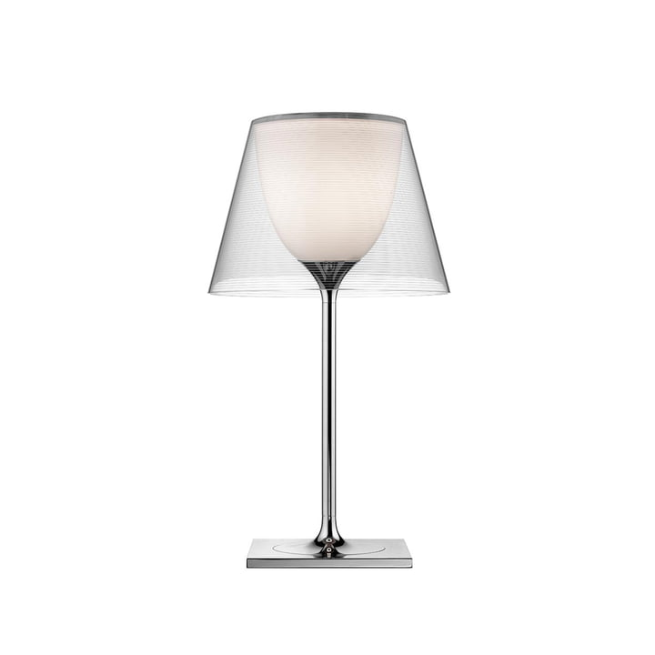 K Tribe T1 table lamp from Flos in transparent