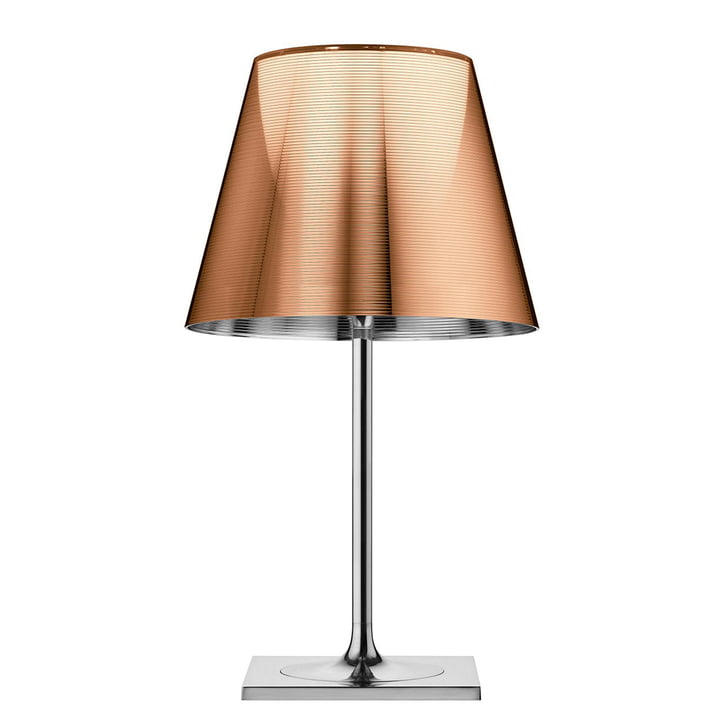 K Tribe T2 table lamp from Flos in alu-bronze