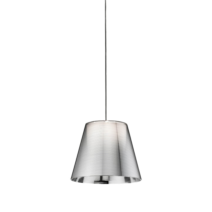 The K Tribe S1 from Flos in silver aluminized