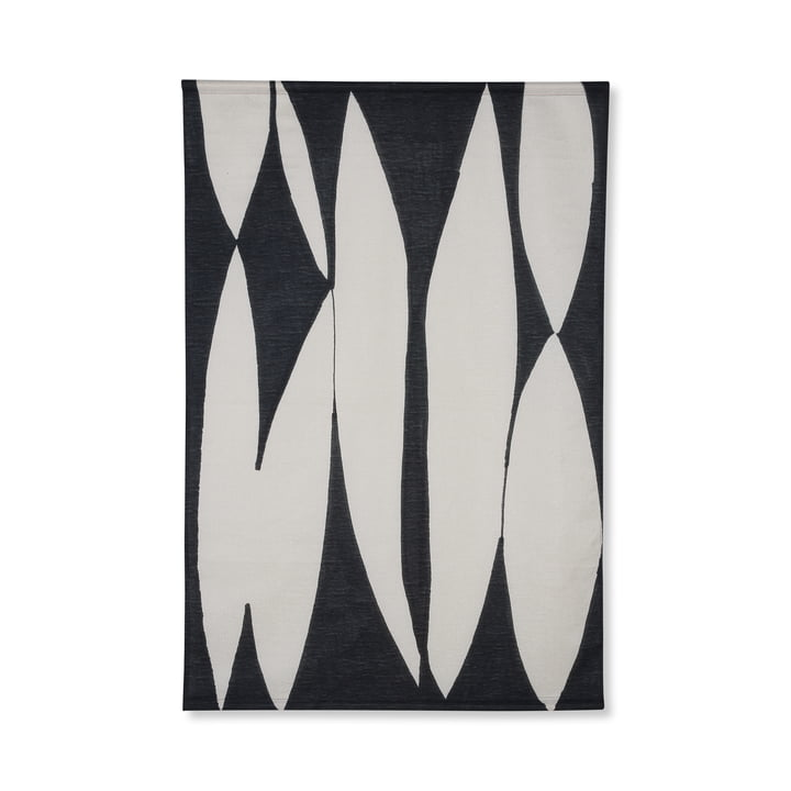 Abstract mural, 97 x 147 cm, black / white by HKliving