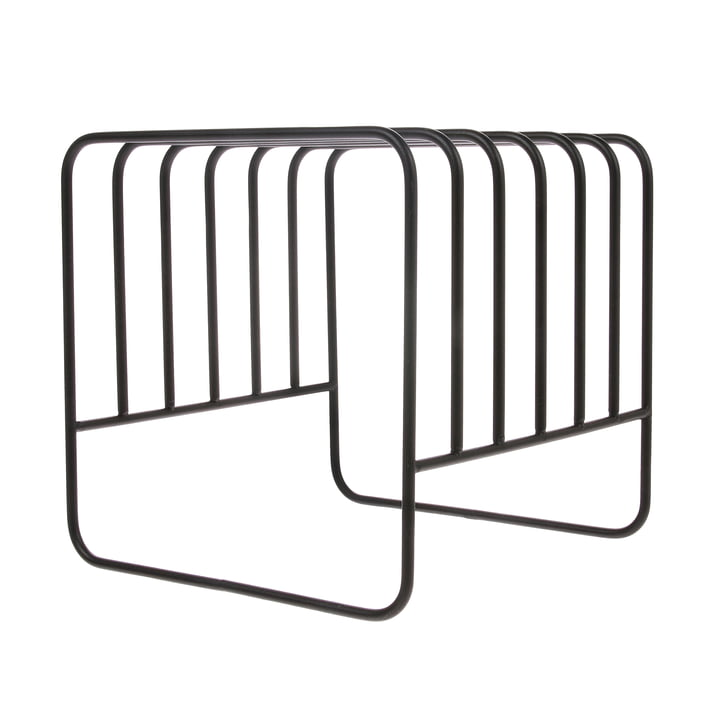 Plate Rack Draining stand, black by HKliving