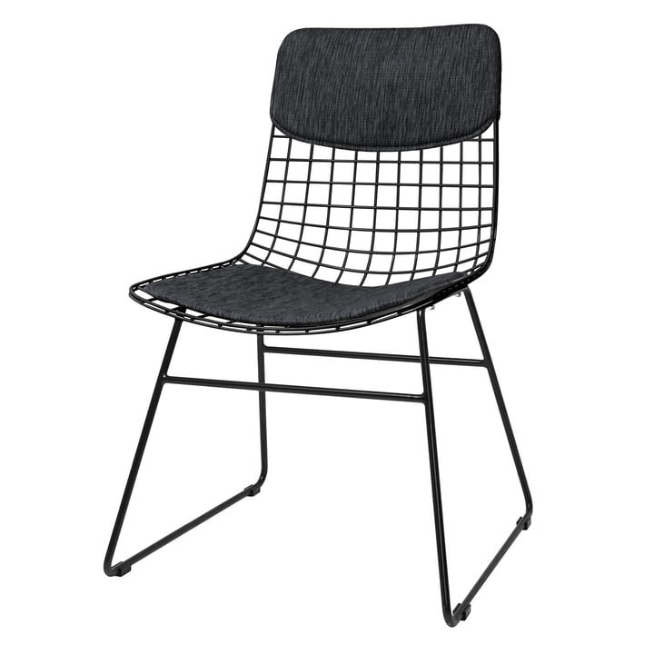 Cushion for Wire Chair, black from HKliving